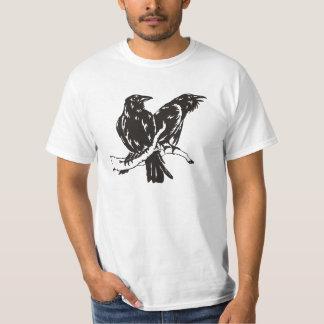 Hugin and Munin T-Shirt