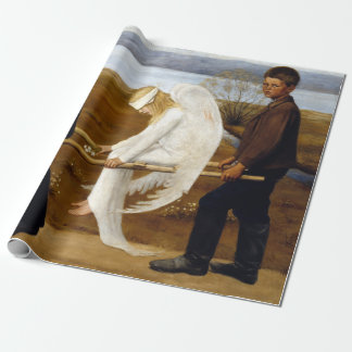Hugo Simerg The Wounded Angel Wrapping Paper