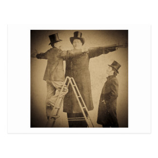 Hugo the Giant Vintage Circus Freak Wendt Photo Postcard