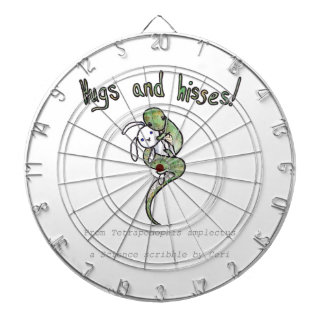Hugs and Hisses from a four legged snake Dart Boards