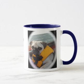 Hugs and Pugs mug