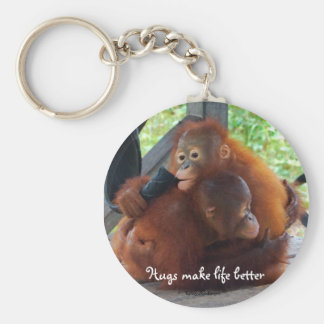 Hugs are Important Keychain