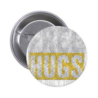 Hugs design 2 inch round button