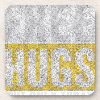Hugs design coaster
