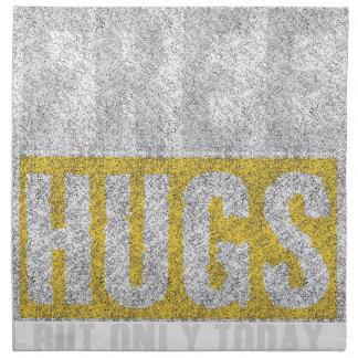 Hugs design napkin