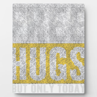 Hugs design plaque