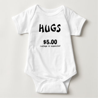 HUGS FIVE DOLLAR BABY BODYSUIT
