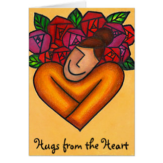 Hugs from the Heart, Hugs from the Heart Card