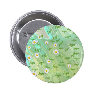 HUGS, HOME, OFFICE, ELECTRONICS, BUSINESS, BEAUTY 2 INCH ROUND BUTTON