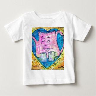 Hugs in a pot baby T-Shirt