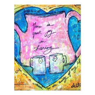 Hugs in a pot letterhead