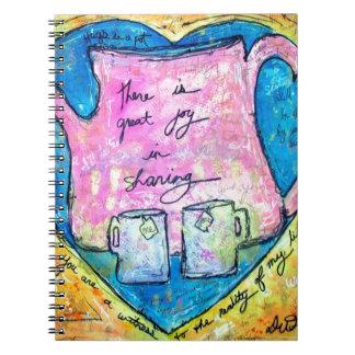 Hugs in a pot notebooks