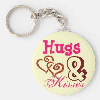 Hugs & Kisses Keyring