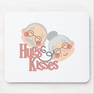 Hugs & Kisses Mouse Pad