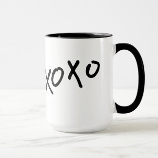 Hugs & Kisses xoxo Coffee Cup