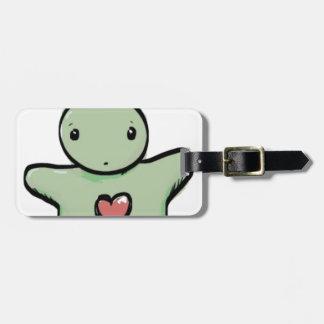 hugs luggage tag