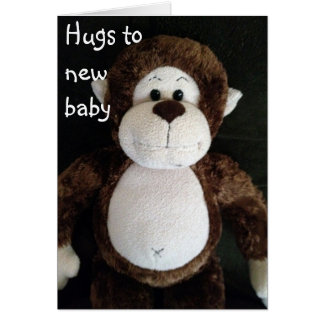 HUGS TO YOUR NEW BABY CARD