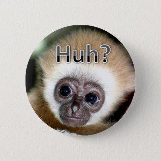 Huh 2 Inch Round Button