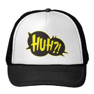 Huh Cartoon Boom Splat Trucker Hat