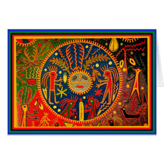 Huichol Fertility Ritual Card