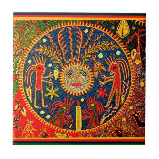 Huichol Fertility Ritual Ceramic Tiles
