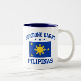 Hukbong Dagat Pilipinas Two-Tone Coffee Mug