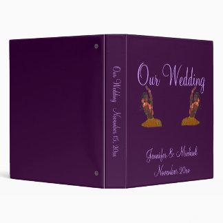 Hula Aloha Tropical Wedding Album 3 Ring Binder