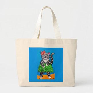 Hula Cat Beach bag