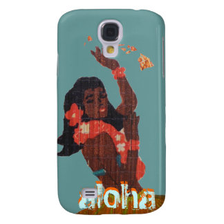 Hula Dancer Aloha by Island Map