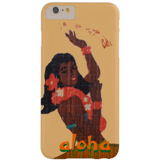 Hula Dancer Aloha Hawaii Map Barely There iPhone 6 Plus Case