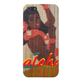 Hula Dancer Aloha iPhone 5/5S Covers