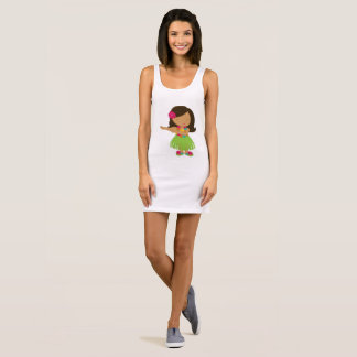 Hula Dancer Sleeveless Dress