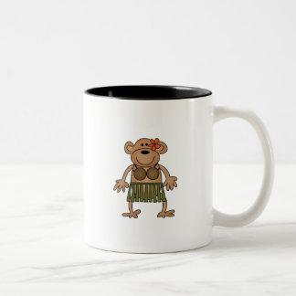 Hula Dancing Monkey Tshirts and Gifts Mug
