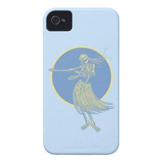 Hula Death Luau iPhone 4 Cases