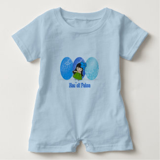 Hula Girl Easter Egg Kids T-shirts
