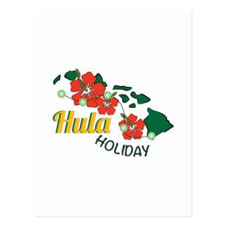 Hula Holiday Post Cards