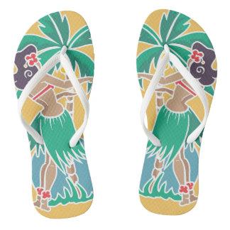 Hula Honey - Yellow - Flip Flops