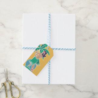Hula Honey - Yellow - Gift Tag