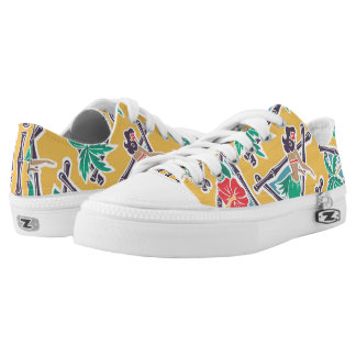 Hula Honey - Yellow - Low-Top Sneakers
