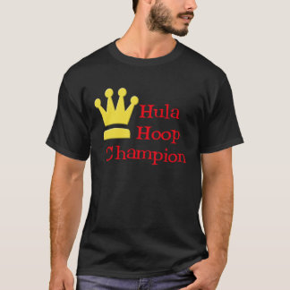 Hula Hoop Champion dark t-shirt