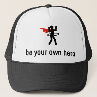 Hula Hoop Hero Trucker Hat