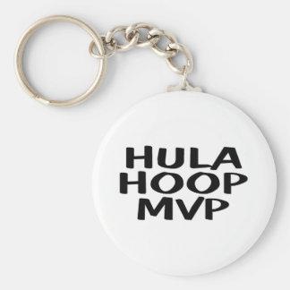 Hula Hoop MVP Basic Round Button Keychain