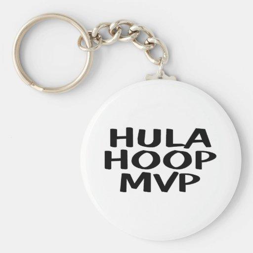 Hula Hoop MVP Key Chains