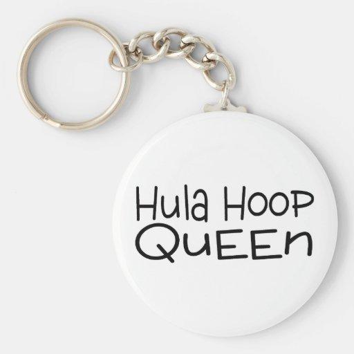 Hula Hoop Queen Key Chain