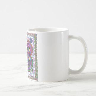 Hula Hoop Round Colorful Circles Classic White Coffee Mug