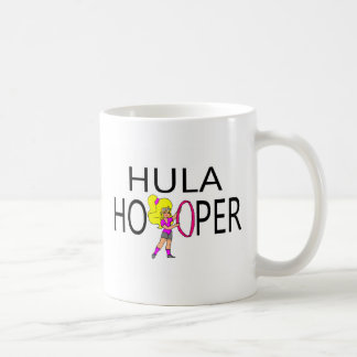 Hula Hooper Girl Coffee Mug