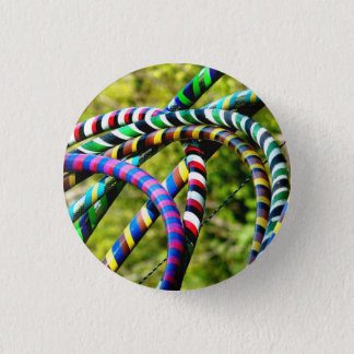 Hula Hoops 1 Inch Round Button