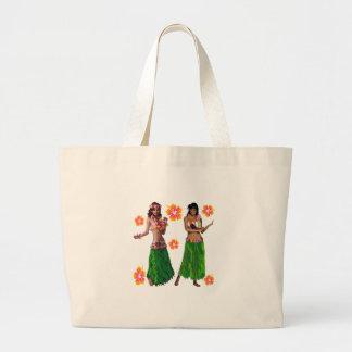hula kaiko large tote bag