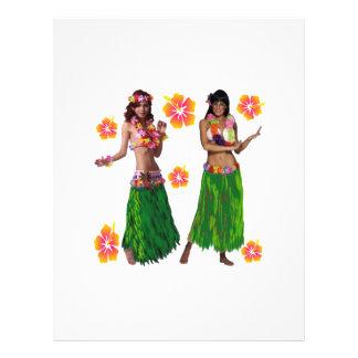 hula kaiko letterhead design