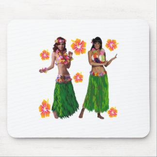 hula kaiko mouse pad